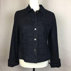 Talbots blue jean jacket   Size: 8